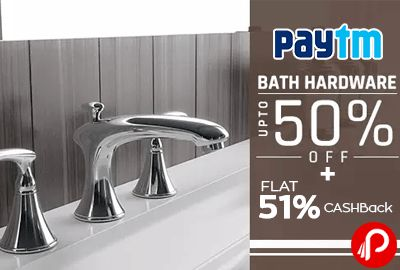 paytm offers discount extra cashback on taptree bath hardware variety range of bathroom accessories coupon code