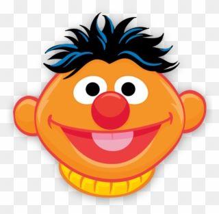 Stickers For Kids Ernie Zoe Sesame Street Characters Sesame Street Ernie Face Clipart Sesame Street Kid Character Sesame Street Birthday