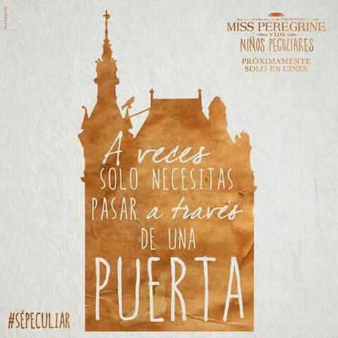 Blog Tour Frases El Hogar De Miss Peregrine Para Ninos