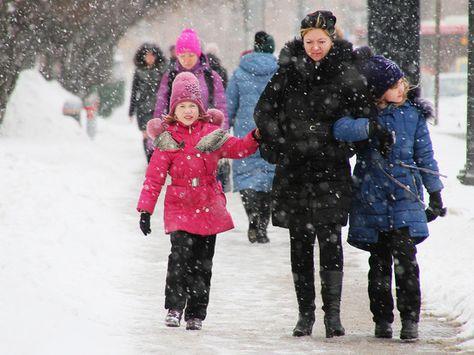 Субботний снегопад в Москве стал самым мощным за почти 70 лет