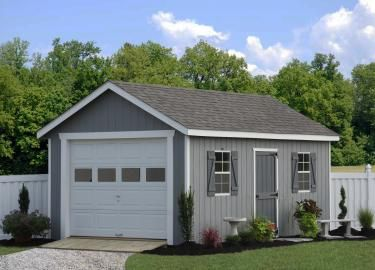 Classic Workshop Single Car Garage | Garage | Prefab garages