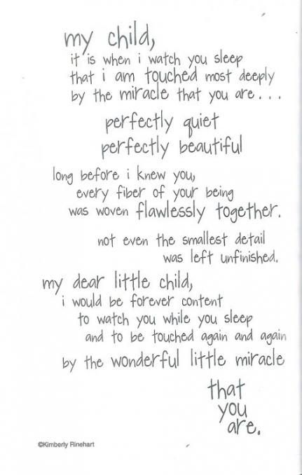 Pin On Sleeping Baby Quotes