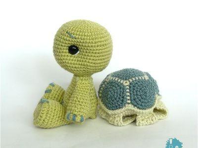 Amigurumi Turtle Pattern : Sammy the seal amigurumi crochet free pattern