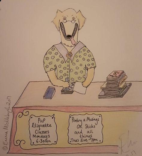 spoonie Today's Puppin sketch....