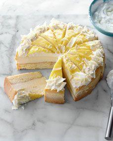 Lemon Citrus Fusion Cake