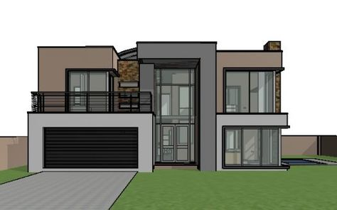 12 Cool Concepts Of How To Upgrade 4 Bedroom Modern House Plans