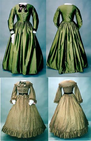 1860's Day Dress Pattern By Laughing Moon Mercantile | Jobsite