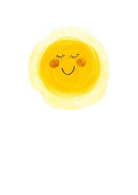 One happy Sunshine A3 giclee print by inmybackyard on Etsy