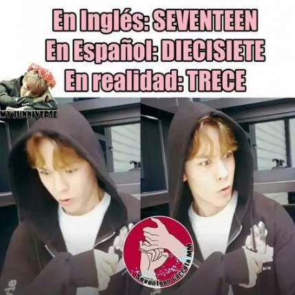 47 Ideas Memes Kpop English Seventeen Seventeen Memes Kpop Memes Memes