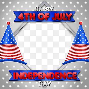 Independence Day America Frame Design Asset Social Media Instagram Day Png Transparent Clipart Image And Psd File For Free Download In 2021 Frame Design Independence Day Design Assets