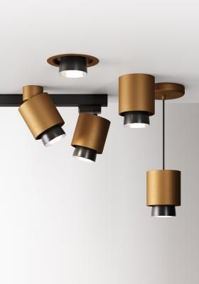Bronze The New In Trend Finish Fabbian Adjustable Lighting