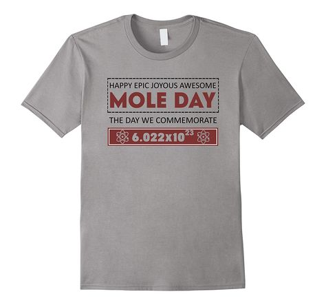 Happy National Mole Day October T-Shirt-Teevkd