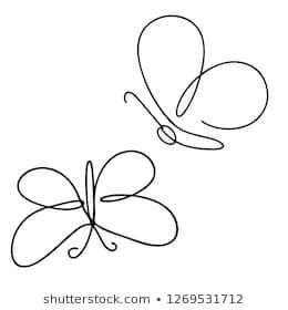 Butterfly Doodle Images Stock Photos Vectors In 2020 Art