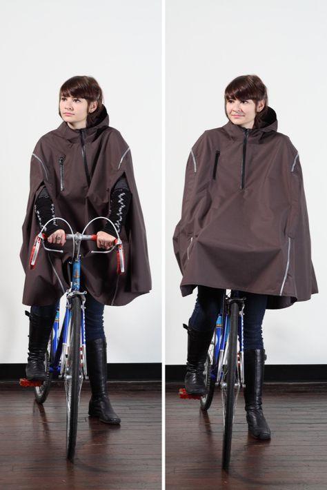 Rain poncho for the bike commute.