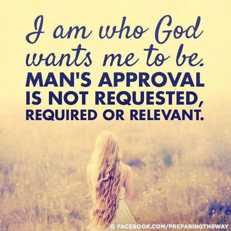 I am seeking to be who God wants me to be. Not there yet! I pray and ask that the Holy Spirit give me strength so that I have this kind of attitude. Focus on Christ and the rest may follow.