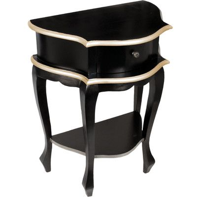 House Additions 1 Drawer Bedside Table Reviews Wayfair Uk Wooden Bedside Table French Style Bedside Tables Black Bedside Table
