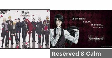What do the black butler characters think of you