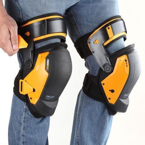 TOUGHBUILT GELFIT Black Thigh Support Stabilization Knee Pads