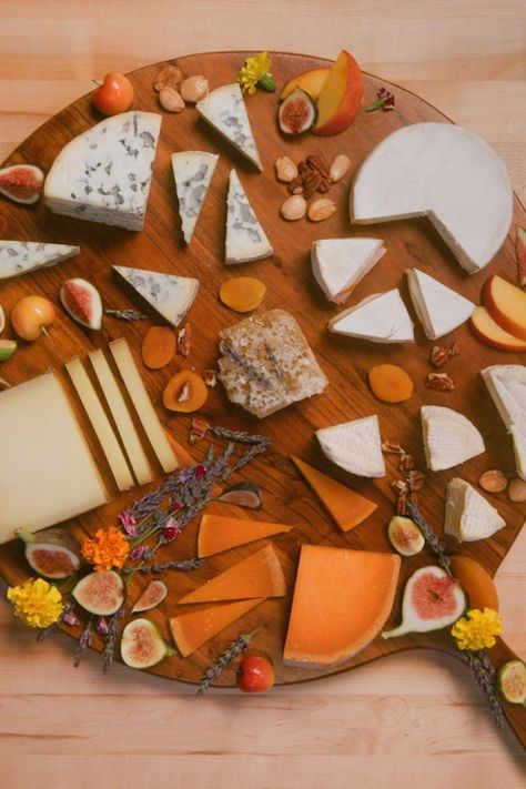 No party is complete without a selection of fromage and fruit to nibble on. Make any cheese board magnifique with Cheeses Of Europe French cow's milk cheeses ranging from buttery Brie and aromatic Mimolette to nutty Comté PDO and velvety Fourme d'Ambert PDO. #ad #EnjoyitsfromEurope #Cheesesofeurope #Makeitmagnifique #FrenchCheeses #CheesesofFrance