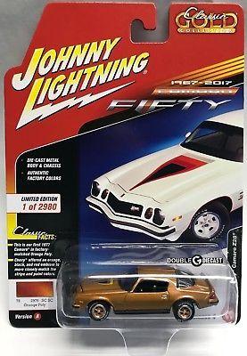 Custom PAINT Limited Edition 1977 PONTIAC TRANS AM JOHNNY LIGHTNING 1//64