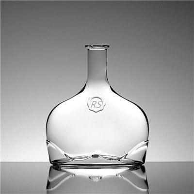 750ml Unique Liquor Decanter Glass Bottle For Sale Glass Liquor