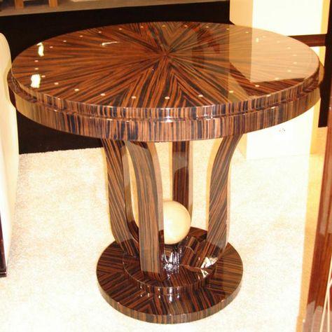 Modele Gueridon Art Deco Paris Meubles Art Deco Decoration Salon Design Art Deco Table