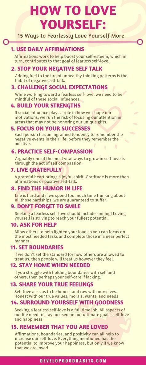 How to Love Yourself: 15 Ways to Increase your Self-Love
