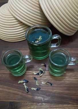 Resep Wedang Jahe Kembang Telang Oleh Meliana Resep Wedang Jahe Jahe Minuman