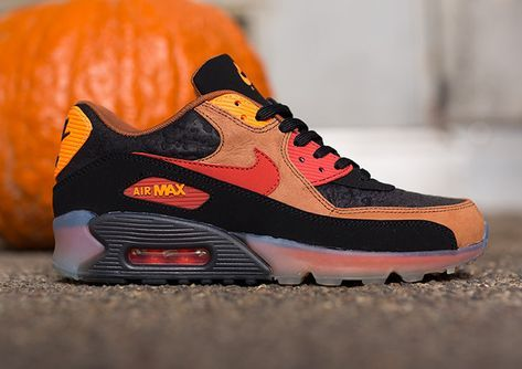 "Nike Air Max 90 ICE QS – ""Halloween"" 