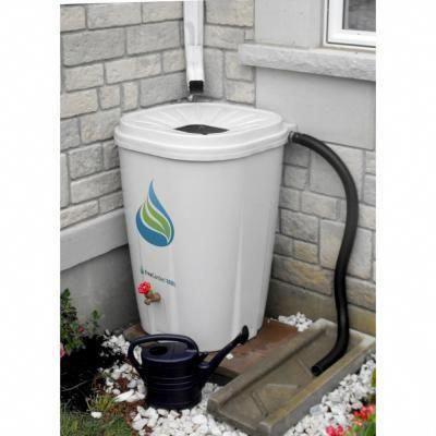 Freegarden Rain 55 Gal Rain Barrel With Brass Spigot Ewc 10 In 2020 Rain Barrel System Rain Barrel Rain Water Collection System