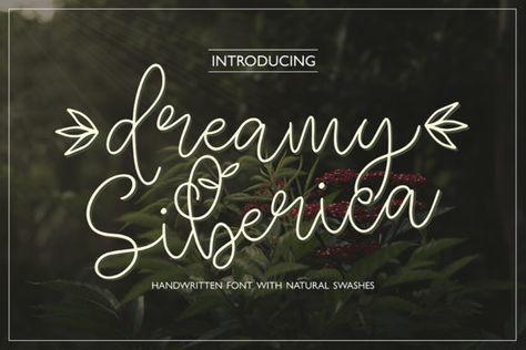 Dreamy Siberica (Font) by Masha Artifex · Creative Fabrica