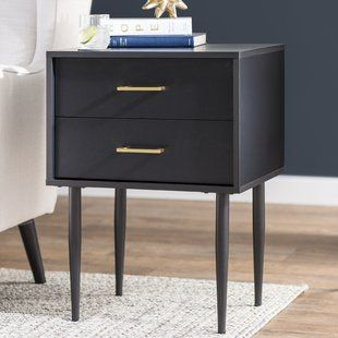 Nightstands Bedside Tables You Ll Love Wayfair Drawer Nightstand End Tables With Storage Nightstand