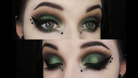 Requested tutorial ♥ What I'm Wearing; -Urban Decay Anti-Aging Primer Potion -NYX Ultimate Smokey & Highlight Palette -Kat Von D Shade and Light Palet. Elven Makeup, Witchy Makeup, Dark Fairy Makeup, Dark Makeup, Dark Fantasy Makeup, Elf Make Up, Woodland Fairy Makeup, Woodland Elf, Elf Makeup Dupes