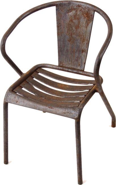 Xavier Pauchard Fur Tolix Franzosischer Bistro Cafehaus Stuhl Ft5 1950 1960 Stuhle Strandholz Franzosisches Bistro