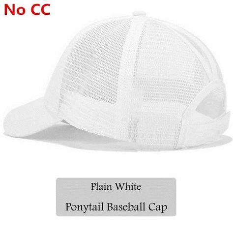 9f58dd7147a WEEKLY DEAL - CC Glitter Ponytail Baseball