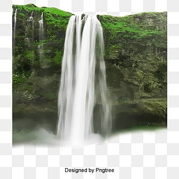 2017 Waterfall Landscape Material Waterfall Beautiful Scenery Background Material Png Transparent Clipart Image And Psd File For Free Download Waterfall Landscape Scenery Background Waterfall
