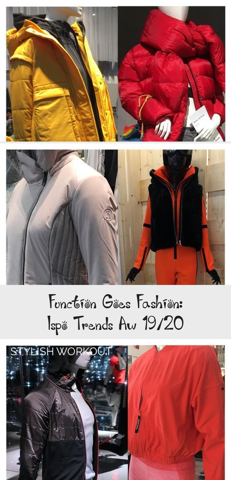 Function Goes Fashion: Ispo Trends Aw 19/20