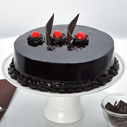 Chocolate Truffle Cream Cake Chocolate Truffle Cake Chocolate Cake Designs Chocolate Truffles
