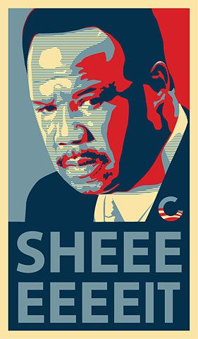 Isiah Whitlock Jr as State Sen. R. Clayton 'Clay' Davis on the best TV show ever The Wire