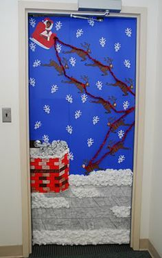 Christmas Door Decorating Contest Winners | Keep In Mind, The Company That  I Work At