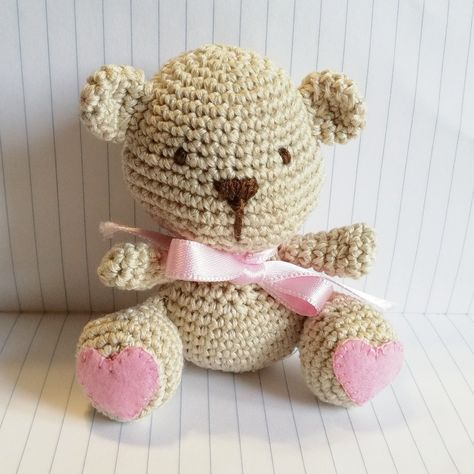 Come realizzare un Orsetto Amigurumi all'uncinetto - Schema ... | 474x474