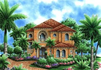 Page 13 Of 17 For America S Best House Plans Narrow Lot House Plans Mediterranean House Plans Narrow Lot House