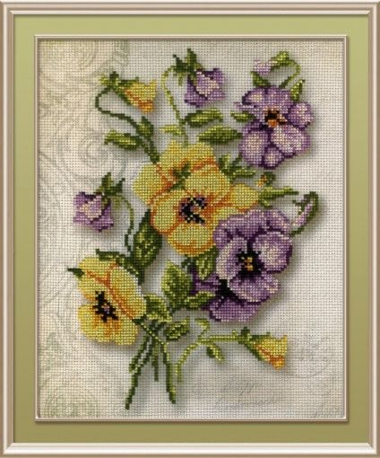 """RIOLIS Counted Cross Stitch Kit 11.75/""""X15.75/""""-Stitching Lessons 14 Count"""
