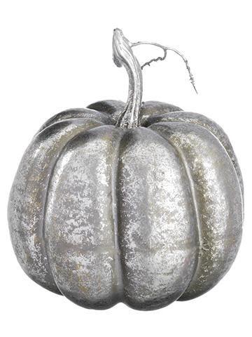 Silver Pumpkin Fall Wedding Decorations Afloral Com Artificial Pumpkins Fall Pumpkins Fall Decor