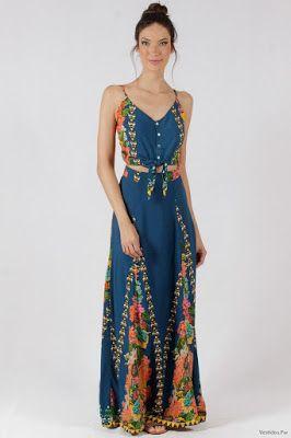 gran colección 2019 auténtico compra original Vestidos Largos Hippies | vestidos en 2019 | Vestido ...