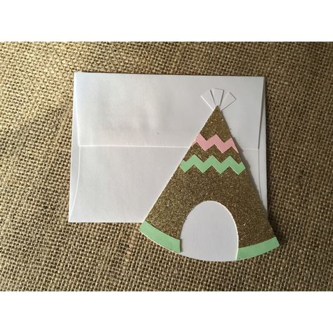 A personal favorite from my Etsy shop https://www.etsy.com/listing/255864539/teepee-invitation-boho-invitation-arrow