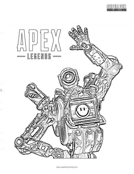 Apex Legends Coloring Page Coloring Pages Coloring Pages For Boys Cool Coloring Pages