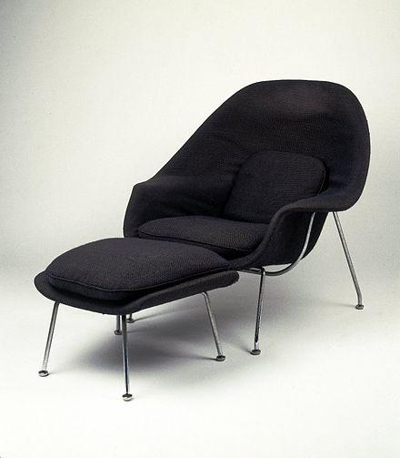 Eero Saarinen Wikipedia Womb Chair Saarinen Womb Chair Eero Saarinen Womb Chair