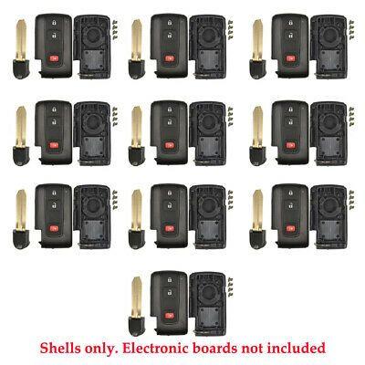 Remote Control Smart Prox Key Fob Shell 3b Fit For Toyota Mozb31eg