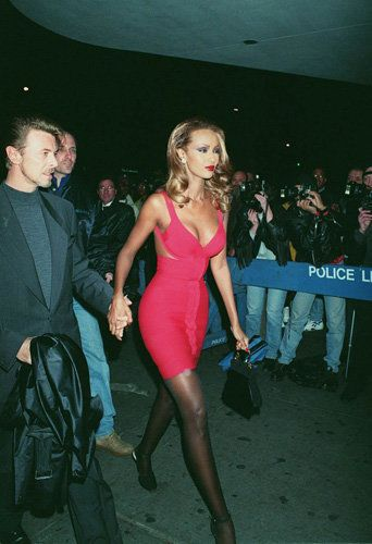 XxFUMMxX-David Bowie and Iman. wow she is gorgeous